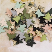 Flutter Bits Paper Flowers - Nature Garden Collection - Prima