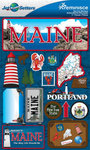 Maine Stickers