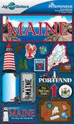 Maine Stickers