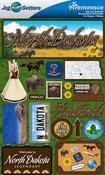 North Dakota Stickers