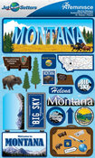 Montana Stickers