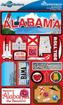 Alabama Stickers - Jet Setters 2 - Reminsice