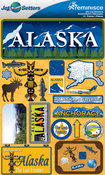 Alaska Stickers - Jet Setters 2 - Reminsice
