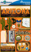 Arizona Stickers - Jet Setters 2 - Reminsice