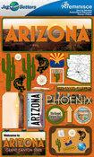 Arizona Stickers - Jet Setters 2 - Reminsice