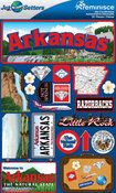 Arkansas Stickers - Jet Setters 2 - Reminsice