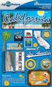 California Stickers - Jet Setters 2 - Reminsice