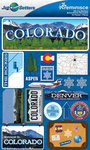 Colorado Stickers - Jet Setters 2 - Reminsice