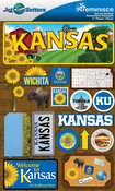 Kansas Stickers - Jet Setters 2 - Reminsice