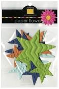 Dino-Mite Stars Paper Flowers - Bazzill