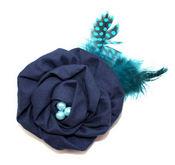 Midnight Blue Pin Clip Fleur - Laliberi