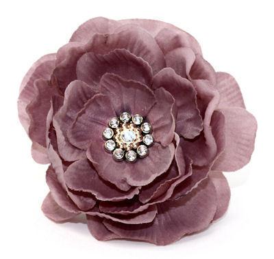 Pink Layered Pin Clip Fleur - Laliberi
