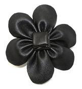 Black Pin Clip Fleur - Laliberi