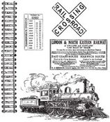 On The Railroad Cling Rubber Stamps - Stampers Anonymous - Tim Holtz