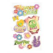 Flower Child Stickers - Paper House