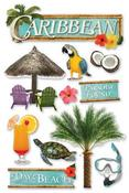 Caribbean Stickers - Paper House