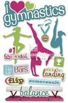 Gymnastics Stickers - Paper House