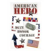 American Hero Stickers - Paper House