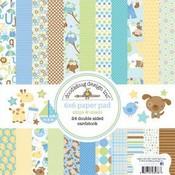 Snips & Snails 6 x 6 Paper Pad - Doodlebug