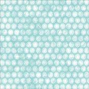 Aqua Doily Paper - Cest La Vie Collection - Melissa Frances