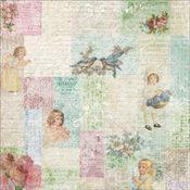 Little Girls Collage Paper - Cest La Vie Collection - Melissa Frances