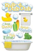 Rub A Dub Dub 3D Stickers