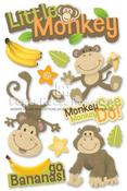 Little Monkey 3D Stickers