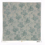 Floral Flocked Blue Paper - Haven - Anna Griffin