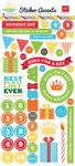 Birthday Boy Sticker Accents - Echo Park