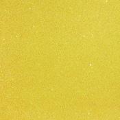Lemon Glitter Paper - Duo - American Crafts