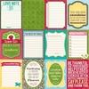 Bite Size Bits 12 x 12 Sheet Uncut Cards - Coconut Lime Soup - Jillibean Soup