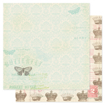 Royal Charm Paper - London Market Collection - Pink Paislee