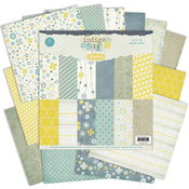 Indigo Bleu 12x12 Collection Paper Pack - Pink Paislee