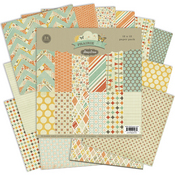 Prairie Hill 12 x 12 Collection Paper Pack - Pink Paislee