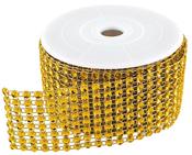 Gold Diamond Ribbon - 2 Yards