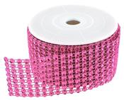 Fuchsia Diamond Ribbon - 2 Yards