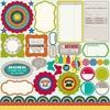 Neopolitan Bean Bisque Diecut Cardstock 12x12 Sheet - Jillibean Soup