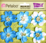 Marine Blue - New Camelia - Petaloo