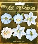 Slate Blue - Small Flowers - Petaloo