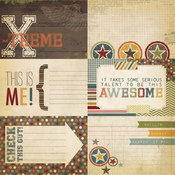 Awesome 4x6 Journaling Card Elements #1 - Simple Stories