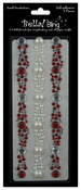 Red Bling Border - Bella Bling - Ruby Rocket