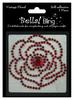 Red Vintage Floral - Bella Bling - Ruby Rocket