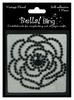 Black Vintage Floral - Bella Bling - Ruby Rocket