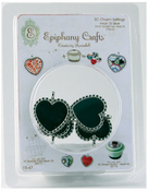 Heart 25mm Metal Settings - Epiphany Crafts
