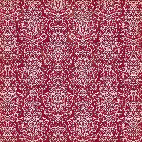 Glam Foil Paper - Vintedge - Ruby ROcket