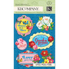 Floral Garden Dimensional Stickers - Bloomscape Collection - K And Company