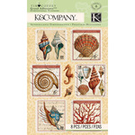 Travel Stamp Stickers - K & Company
