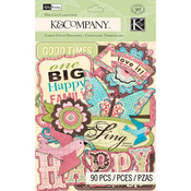 Blossom Die-cut Cardstock - K And Company