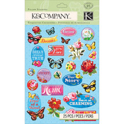 Bloomscape Stickers - K & Company
