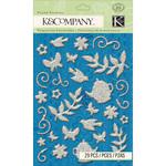 Bloomscape Glitters Stickers - K & Company